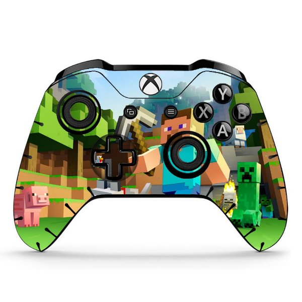 Sticker de Controle Xbox One Minecraft Mod 02