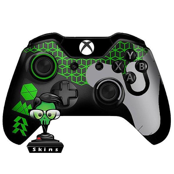 Sticker de Controle Xbox One Destiny Texture Green
