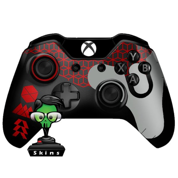 Sticker de Controle Xbox One Destiny Texture Red