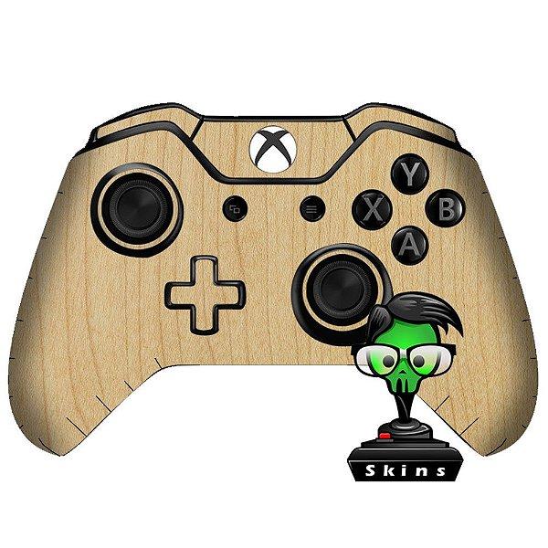 Sticker de Controle Xbox One Madeira Mod 02