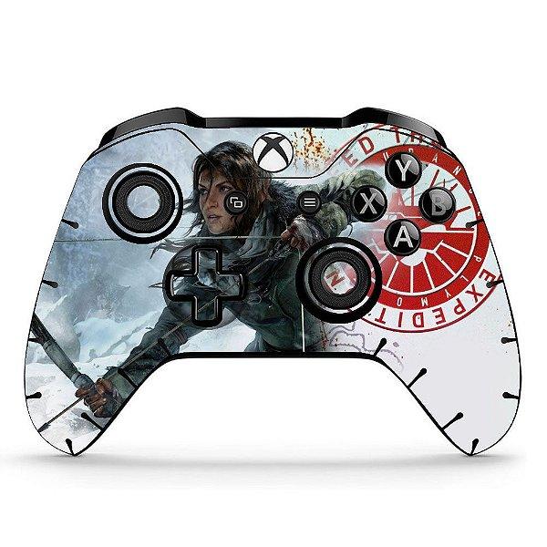 Sticker de Controle Xbox One Tomb Raider Mod 02