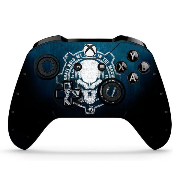 Sticker de Controle Xbox One Gears Of Wars Skull