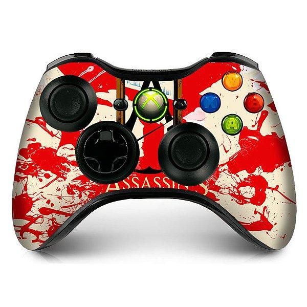 Adesivo de Controle XBOX 360 Assassins Creed Mod 01