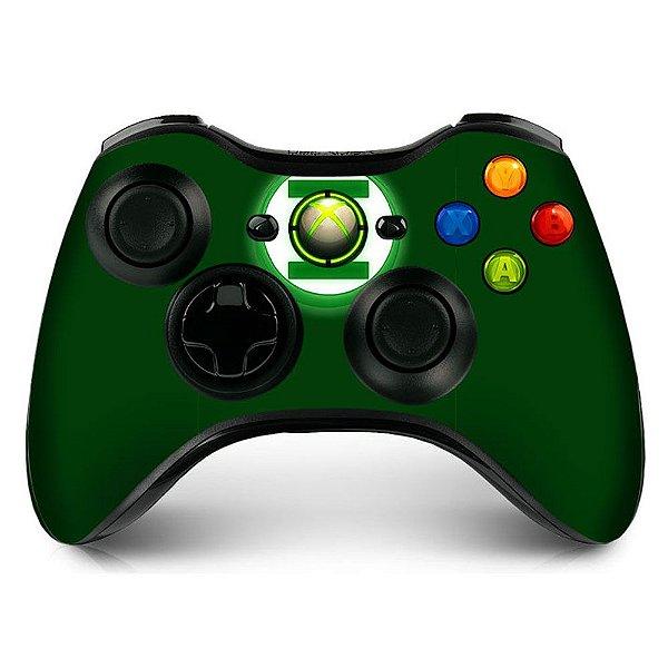 Adesivo de Controle XBOX 360 Lanterna Verde Mod 01