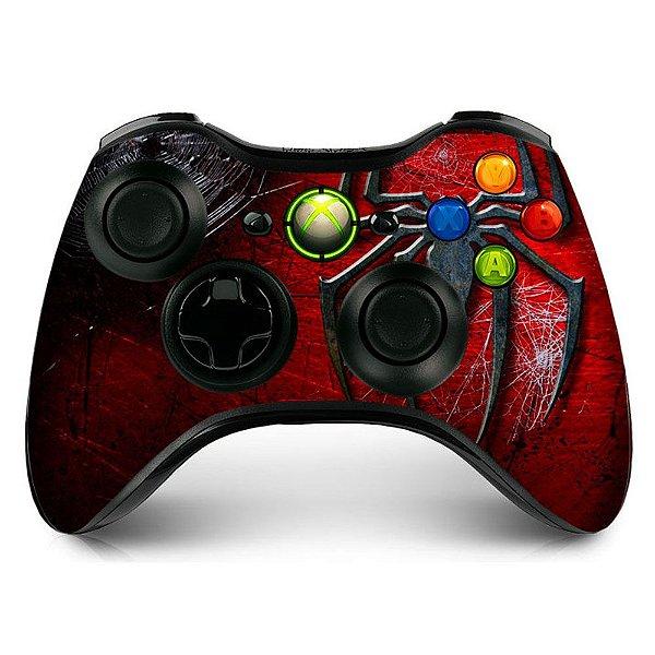 Adesivo de Controle XBOX 360 Spiderman Mod 01