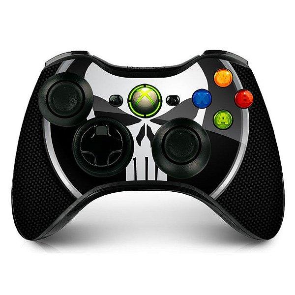 Adesivo de Controle XBOX 360 Punisher Mod 01
