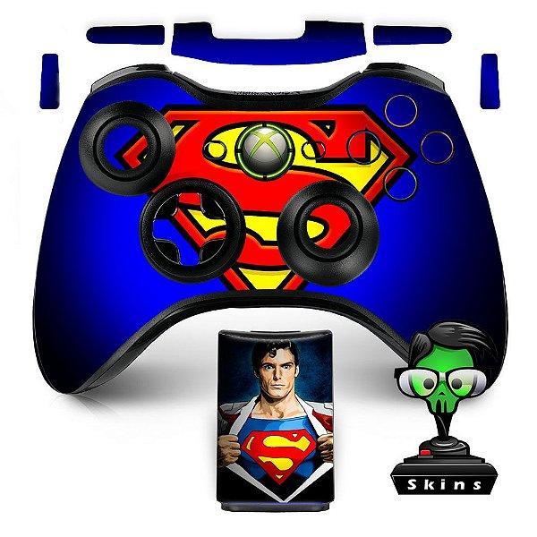 Adesivo de Controle XBOX 360 Superman Mod 01