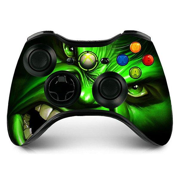 Adesivo de Controle XBOX 360 Hulk Mod 01