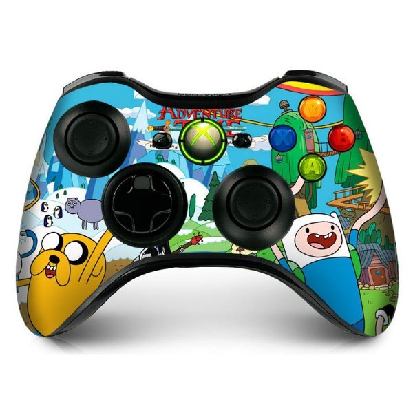 Adesivo de Controle XBOX 360 Adventure Time Mod 01