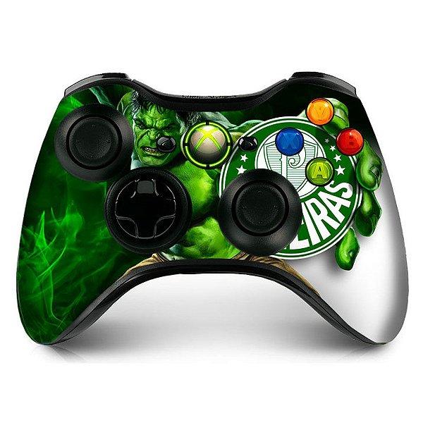Adesivo de Controle XBOX 360 Palmeiras Hulk