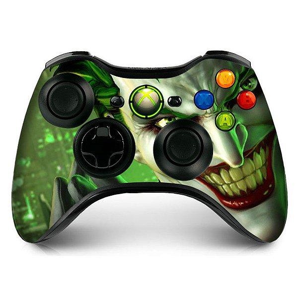 Adesivo de Controle XBOX 360 Joker Mod 04
