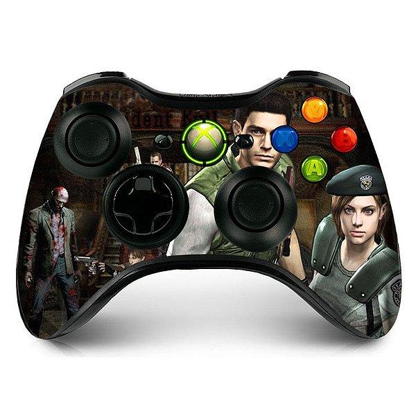 Adesivo de Controle XBOX 360 Resident Evil Mod 03