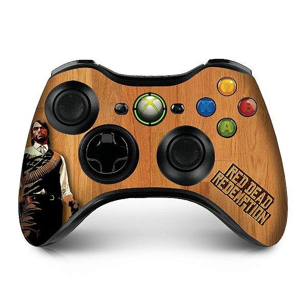 Adesivo de Controle XBOX 360 Red Dead Redemption Mod 01