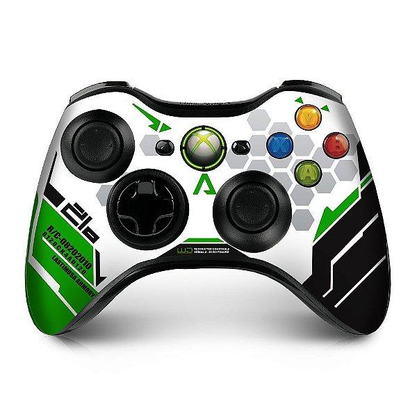 Adesivo de Controle XBOX 360 Titanfall Green