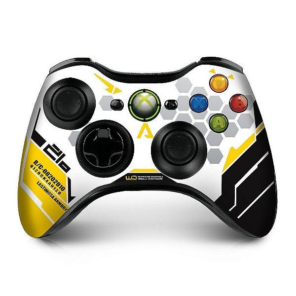Adesivo de Controle XBOX 360 Titanfall Yellow