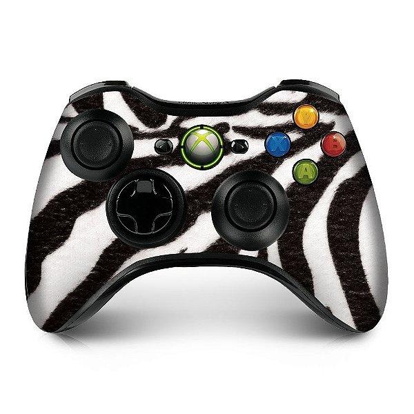 Adesivo de Controle XBOX 360 Zebra