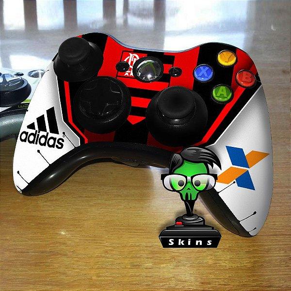 Adesivo de Controle XBOX 360 Flamengo Mod 01