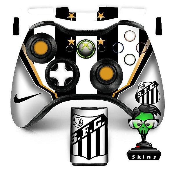 Adesivo de Controle XBOX 360 Santos Futebol Clube
