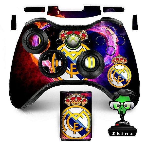 Adesivo de Controle XBOX 360 Real Madrid