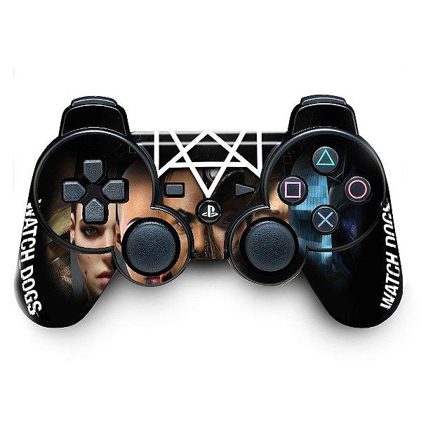 Adesivo de Controle PS3 Watch Dogs Mod 02