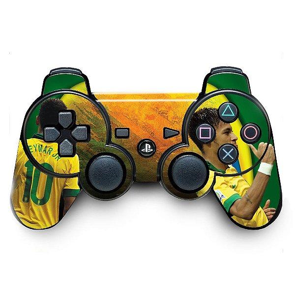Adesivo de Controle PS3 Brasil Neymar Mod 01