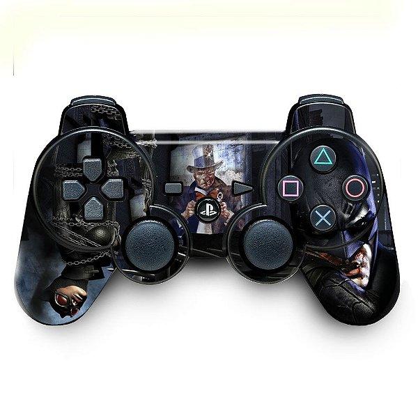Adesivo de Controle PS3 Batman Mod 01