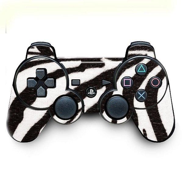 Adesivo de Controle PS3 Zebra