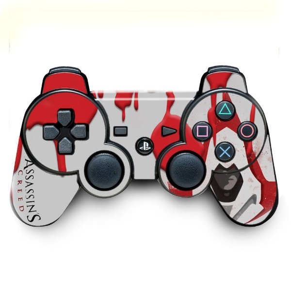 Adesivo de Controle PS3 Assassins Creed Mod 02