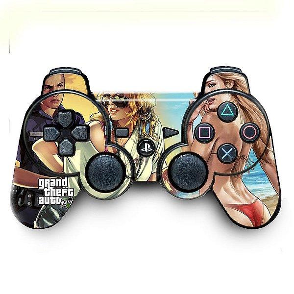 Adesivo de Controle PS3 GTA Mod 02
