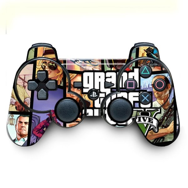 Adesivo de Controle PS3 GTA Mod 04