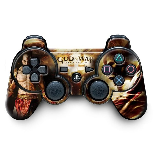 Adesivo de Controle PS3 God Of Wars Mod 02