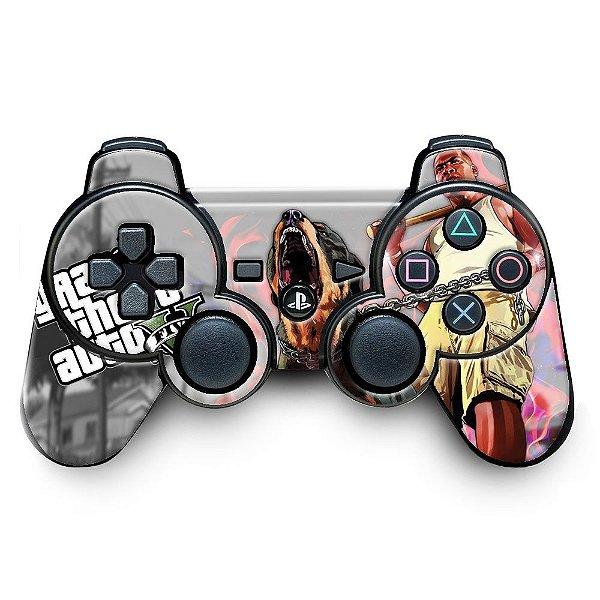 Adesivo de Controle PS3 GTA Mod 09