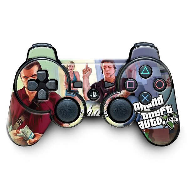 Adesivo de Controle PS3 GTA Mod 10