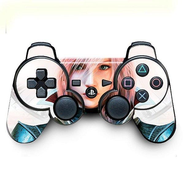 Adesivo de Controle PS3 Final Fantasy Lightning Returns