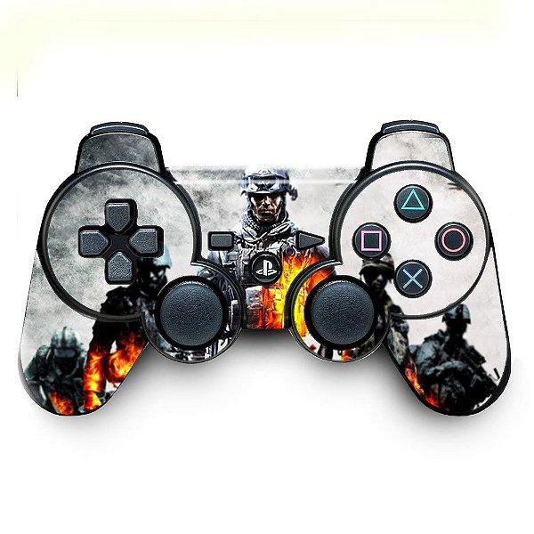 Adesivo de Controle PS3 Battlefield 4 Mod 04