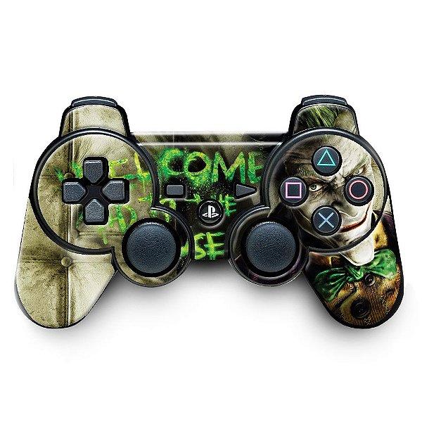 Adesivo de Controle PS3 Joker Mod 02