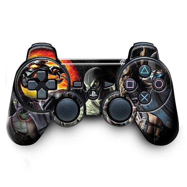 Adesivo de Controle PS3 Mortal Kombat Mod 02