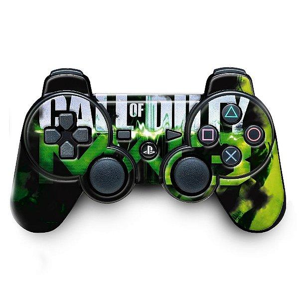 Adesivo de Controle PS3 Call Of Duty Mod 05