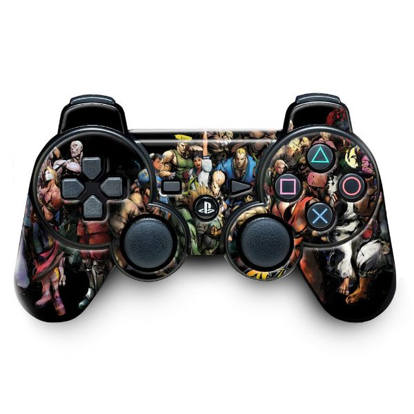 Adesivo de Controle PS3 Street Figther Mod 01
