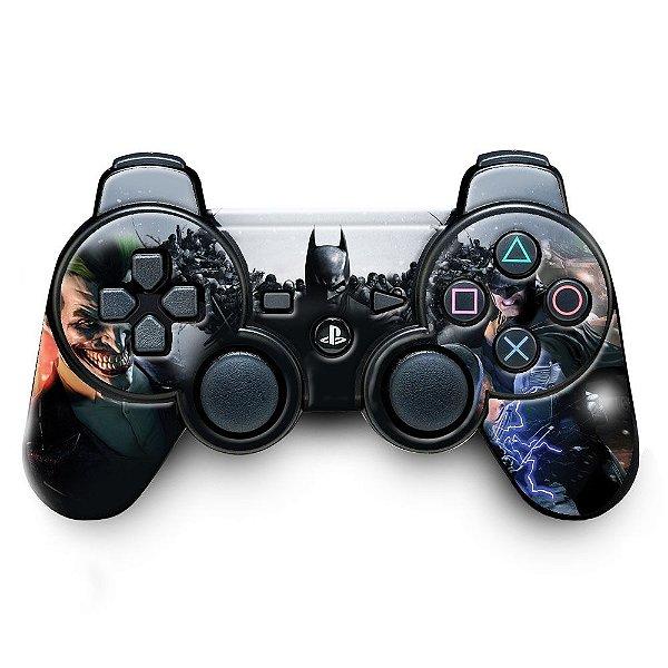 Adesivo de Controle PS3 Batman Mod 02