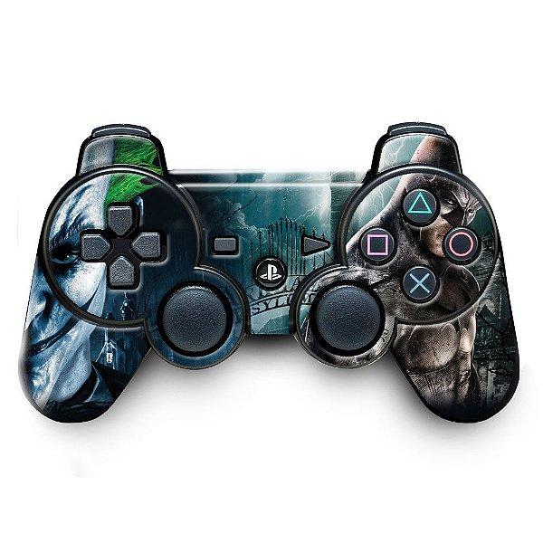 Adesivo de Controle PS3 Batman Mod 03