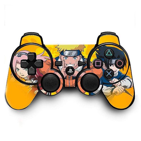 Adesivo de Controle PS3 Naruto Mod 01