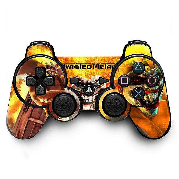 Adesivo de Controle PS3 Twisted Metal Mod 01