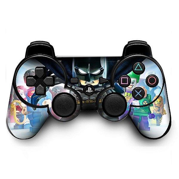 Adesivo de Controle PS3 Lego Heroes Mod 02