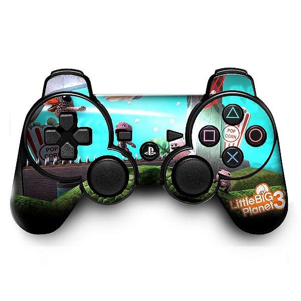 Adesivo de Controle PS3 LittleBigPlanet 3 Mod 01