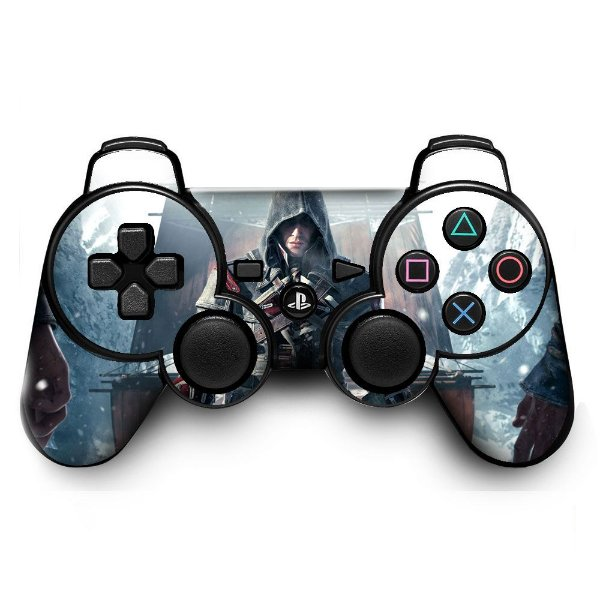 Adesivo de Controle PS3 Assassins Creed Mod 07