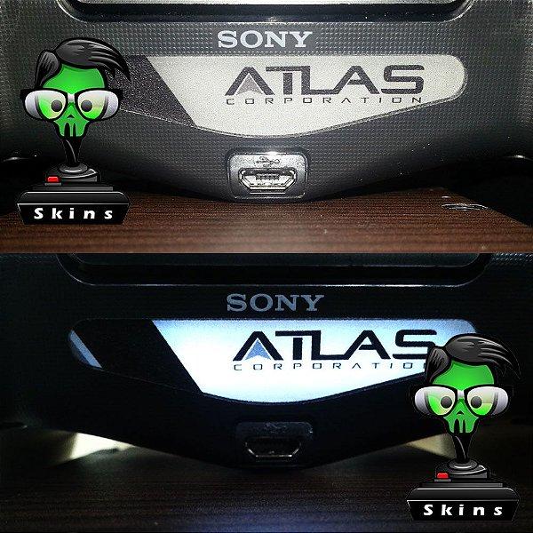 Adesivo Light Bar Controle PS4 Atlas Corporation Mod 01