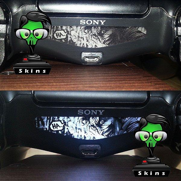 Adesivo Light Bar Controle PS4 Joker Mod 02