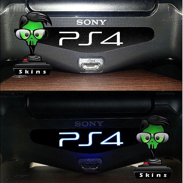Adesivo Light Bar Controle PS4 PS4 Mod 01