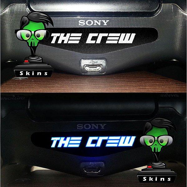 Adesivo Light Bar Controle PS4 The Crew Mod 01